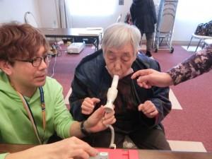肺気量の測定に挑戦